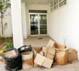 Materiales infecciosos en basura…