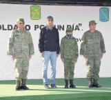 Designa Sedena a Julio Alejandro Leos Santiago 'Soldado por un Día'