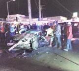 Embiste vehículo; mata a conductor