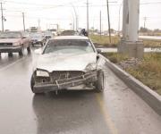 Múltiple accidente de vialidad