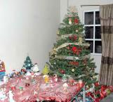 Alertan por peligro de incendio en arbolitos de Navidad en época