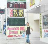 Al alza la divisa americana en casas de cambio, al no lograr bajar el dólar