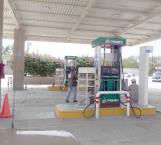 Desabasto de gasolina  en la Villa