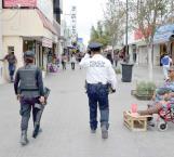Quieren comerciantes que la policía vigile a pie la zona centro