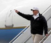 Trump: Llega, escucha y se va