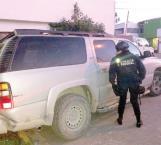 Aseguran camioneta usada en emboscada a autoridades