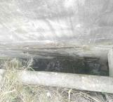 Zanja ocultaba a muerta