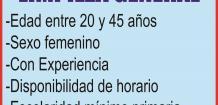 HOSPITAL ESPERANZA SOLICITA: