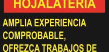 TALLER DE HOJALATERIA,
