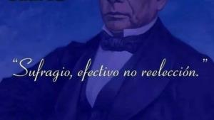 Atribuyen a Benito Juárez frase ¡de Madero!