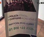 Ofrecen más de 15 mil por mes a futuros policías o custodios