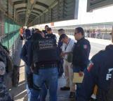 Policías estadounidenses entregan a individuo reclamado en México