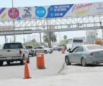 Cierran un carril del Morelos para rehabilitar el pavimento