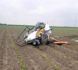 Se desploma helicóptero en Donna, Texas