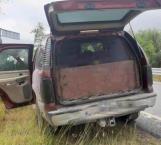 Confirman aseguramiento de cinco camionetas en Reynosa y Río Bravo