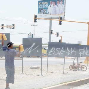 Exceso de propaganda política del PAN en algunos lugares de esta ciudad denuncia el PRI