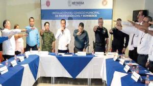 Integran Consejo Municipal de Protección Civil para temporada de lluvias que inicia el 1 de junio