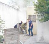 Acaba fuego con escasas pertenencias de un obrero