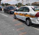 Choque en carretera a Monterrey deja daños materiales