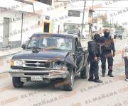 Reportan accidente de tráfico en la colonia Bella Vista