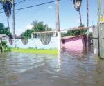 También se afectan escuelas y jardines de niños con lluvia