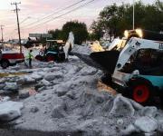 Granizada daña más de 450 casas en Guadalajara