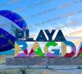 Cancelan elevación de globos en playa Bagdad