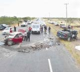 Registran 1,299 accidentes y 23 muertos en 6 meses