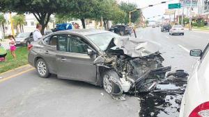 Carambola: 3 personas lesionadas
