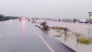Olvidan proyecto contra inundación de carretera