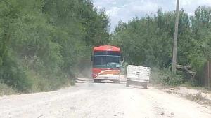 Utilizan una ruta alterna a la villa
