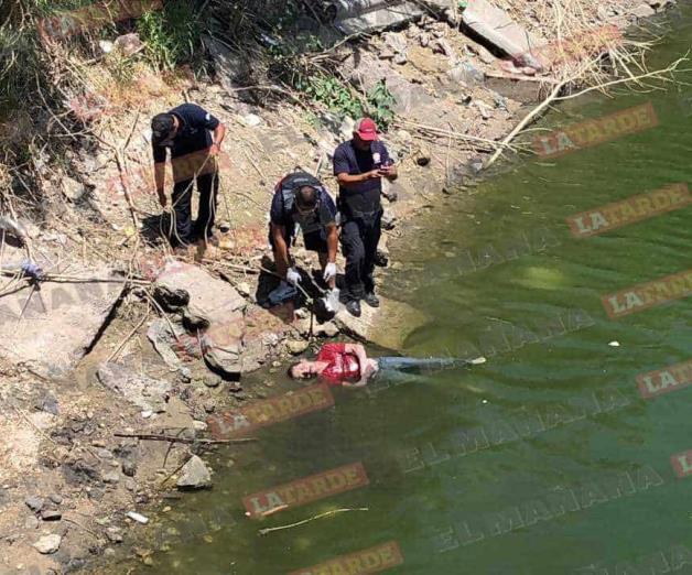 Hallan cuerpo flotando en aguas del canal Anzaldúas
