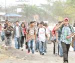 Esperan un grupo de hasta 1,200 migrantes