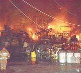 Apagan incendio en Servicios Primarios
