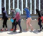 Desisten de entrar a EU 200 migrantes