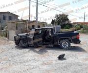 Aseguran militares camioneta blindada en la brecha 109