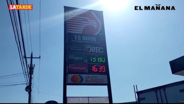 Mantienen a la baja precio de gasolina