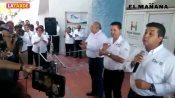 Gobernador reitera su compromiso con familias de Miguel Alemán
