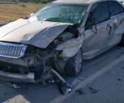 Deja 3 lesionados accidente rumbo a puente Río Bravo-Donna