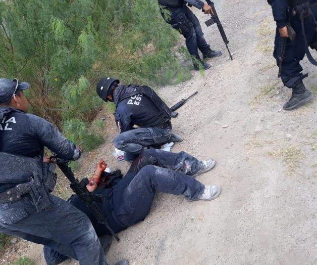 Pistoleros emboscan a policías en Nuevo Laredo; tres oficiales heridos