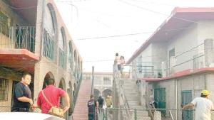 Movilización de rescatistas por conato de incendio
