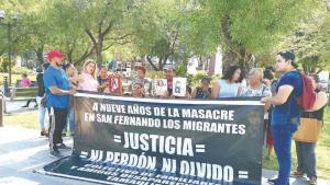 Conmemoran la masacre de San Fernando del 2010