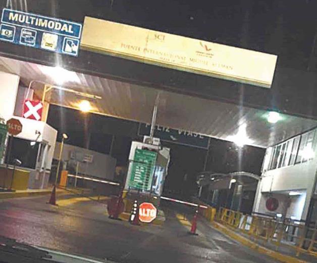 Amenaza de bomba en puente internacional