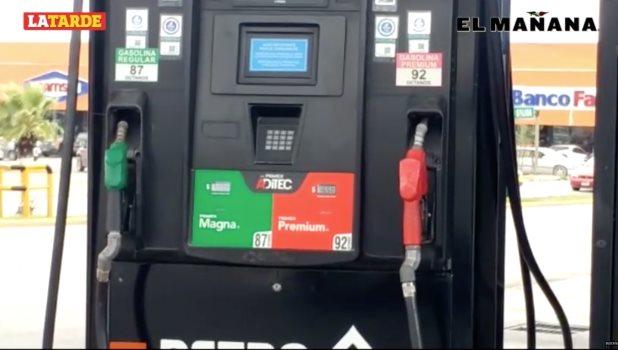 Se mantiene en Reynosa a la baja el precio de la gasolina