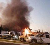 'Levantan' a un hombre y queman casa con 4 personas adentro