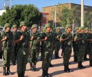 Conmemoran a Niños Héroes en Reynosa