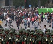 Transcurre con calma el Desfile Militar