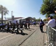 Realizan desfile de Independencia en Victoria