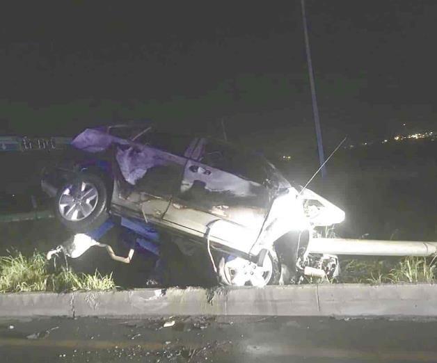 Muere una conductora calcinada