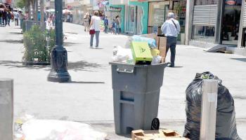 Celebración de El Grito deja 12 toneladas De basura tirada